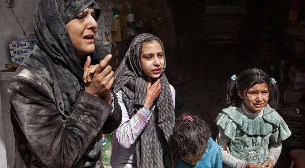 Mujeres, víctimas constantes en las guerras