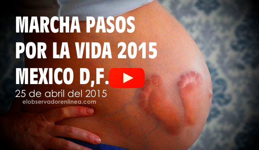 VIDEO Marcha Pasos por la Vida 2015