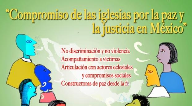Compromiso de las iglesias por la paz y la justicia en México