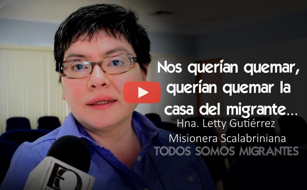 VIDEO Nos querían quemar: querían quemar  la casa del migrante