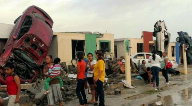La Iglesia organiza ayuda a damnificados por tornado en Cd. Acuña