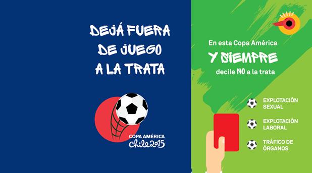 Iglesia contra la trata de personas en la Copa América