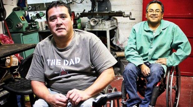 """""""Don Bosco sobre ruedas"""" diseña una silla  que mejora la vida de los discapacitados"""