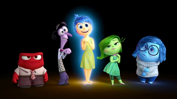 Inside out: Emociones hechas personajes