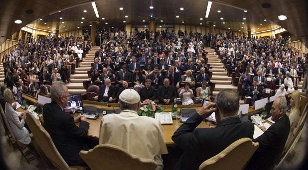 Alcaldes de grandes ciudades, reunidos en el Vaticano