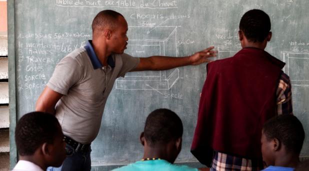 Haití: educar a los jóvenes, abrir la esperanza