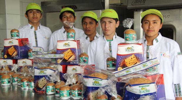 De niños de la calle a panaderos
