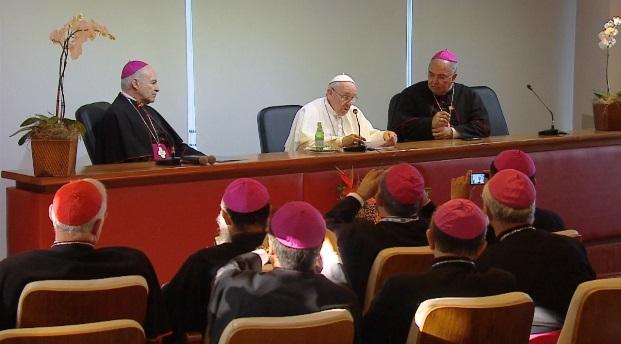 """""""Abran caminos de mayor equidad, justicia y paz"""", ´pide Francisco a obispos latinoamericanos"""