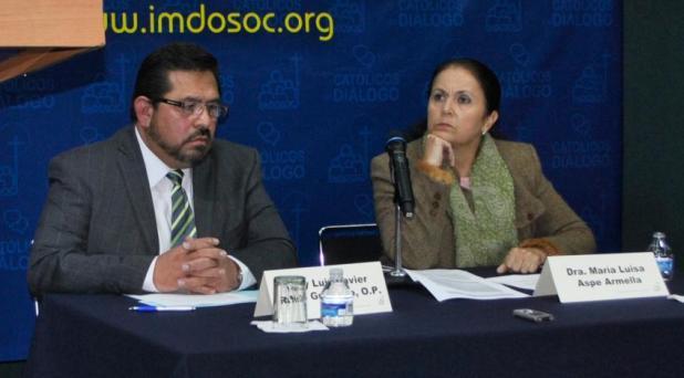 """""""¿Qué México encontrará el Papa Francisco?"""" Panel del reflexión en el IMDOSOC"""