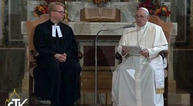 Francisco anuncia celebración conjunta por los 500 años de la Reforma luterana