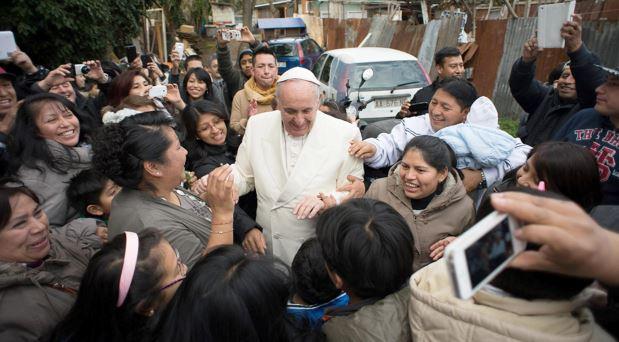"""El Papa en las """"periferias"""" de México"""