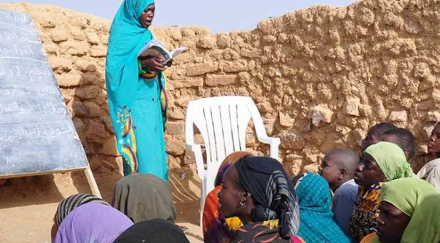 """""""Misericordia en movimiento"""": educación para los refugiados"""
