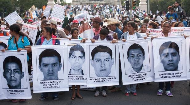 El Papa en el país donde los estudiantes desaparecen