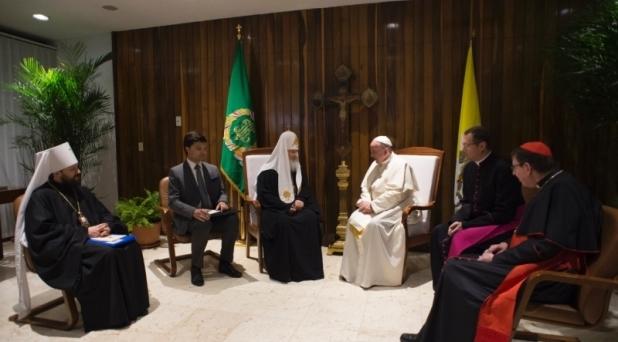 El Papa y el Patriarca, desafío a la historia