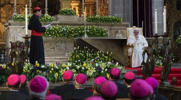 Fuerte y claro mensaje dirige el Papa a los obispos de México