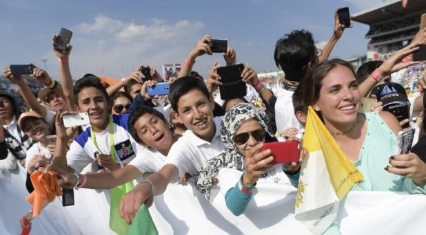 Los jóvenes son la riqueza de México: Papa Francisco