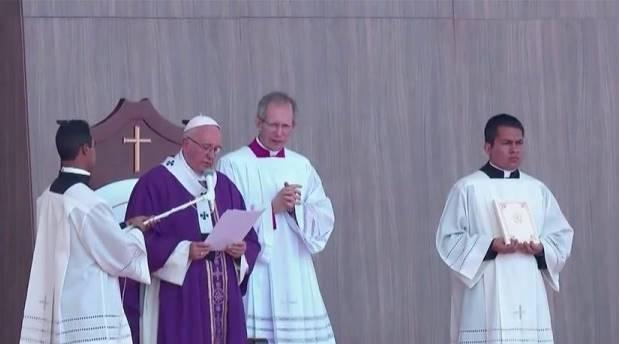 Hemos optado por Jesús, no por el demonio: Homilía del Papa en Ecatepec