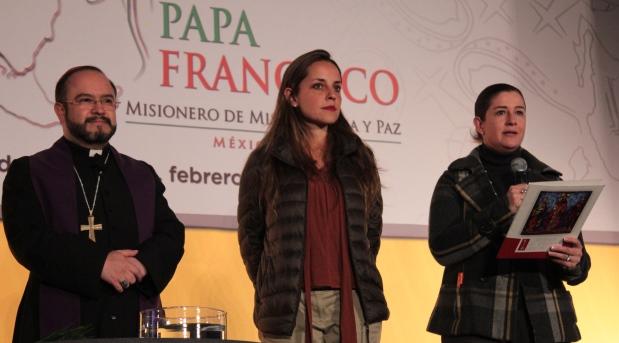 Inauguran el Centro Internacional de Prensa para la visita del Papa a México