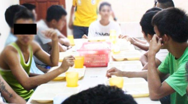 Programa de integración social para menores en conflicto con la justicia