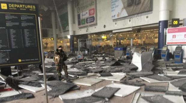 Consternación del Papa por atentados en Bruselas