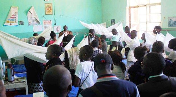 Jóvenes misioneros restauran dignidad de enfermos de lepra