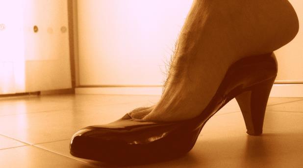Los zapatos ajenos