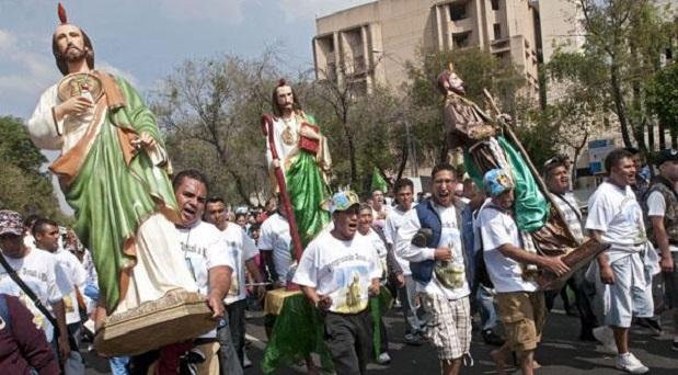 La religión en las calles de la Ciudad de México