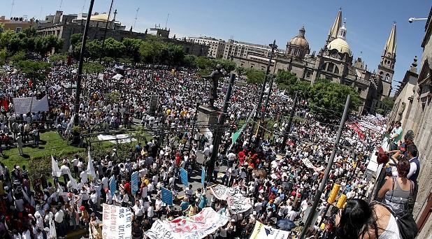 La gran marcha por las familias mexicanas