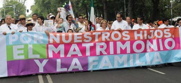 El rumbo de la gran marcha por las familias mexicanas