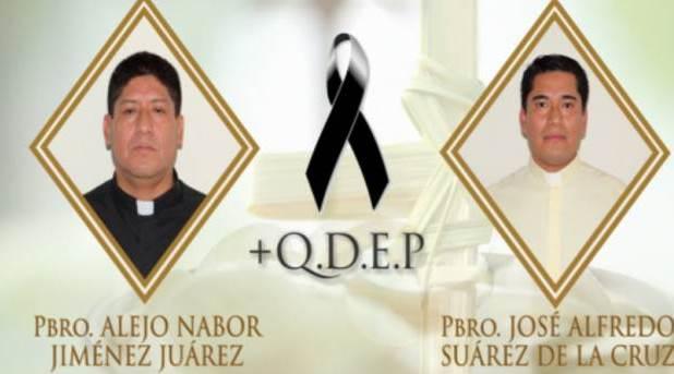 Asesinan a dos sacerdotes de la diócesis de Papantla