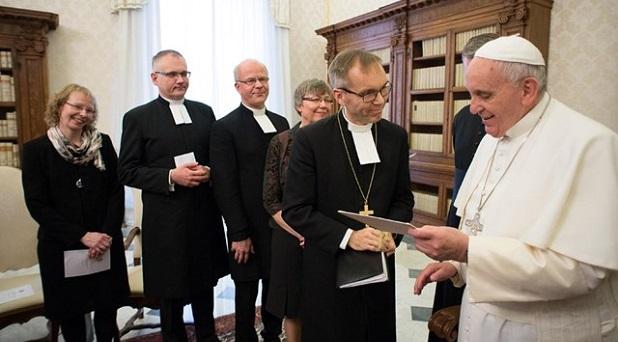 Del conflicto a la comunión: católicos y luteranos