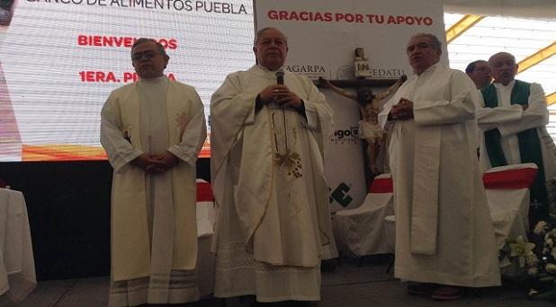 Inician proyecto de Banco de alimentos en Puebla