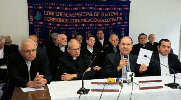 Obispos de Guatemala denuncian corrupción que paraliza al país