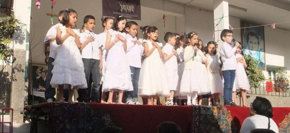 Don Bosco en medio de musulmanes