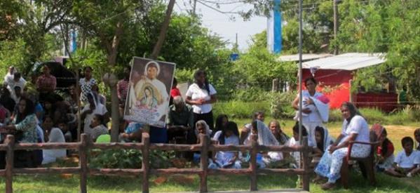 En Sri Lanka también festejaron a la Virgen de Guadalupe