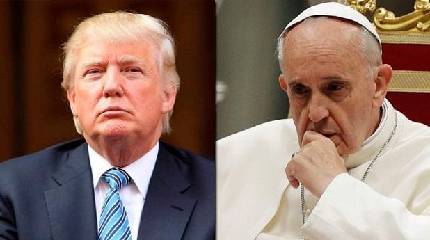 El Papa y el muro de Trump
