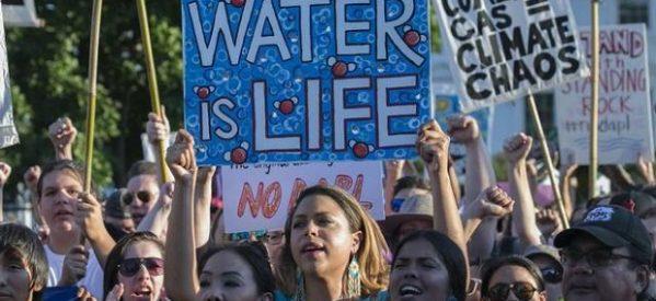 Franciscanos se solidarizan con indígenas contra oleoductos autorizados por Trump