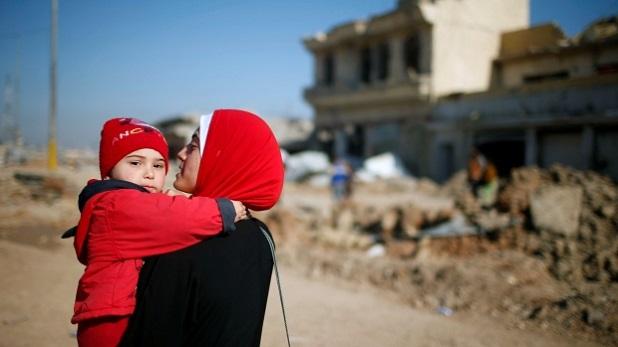 Papa pide protección para los civiles enmedio de la guerra en Mosul