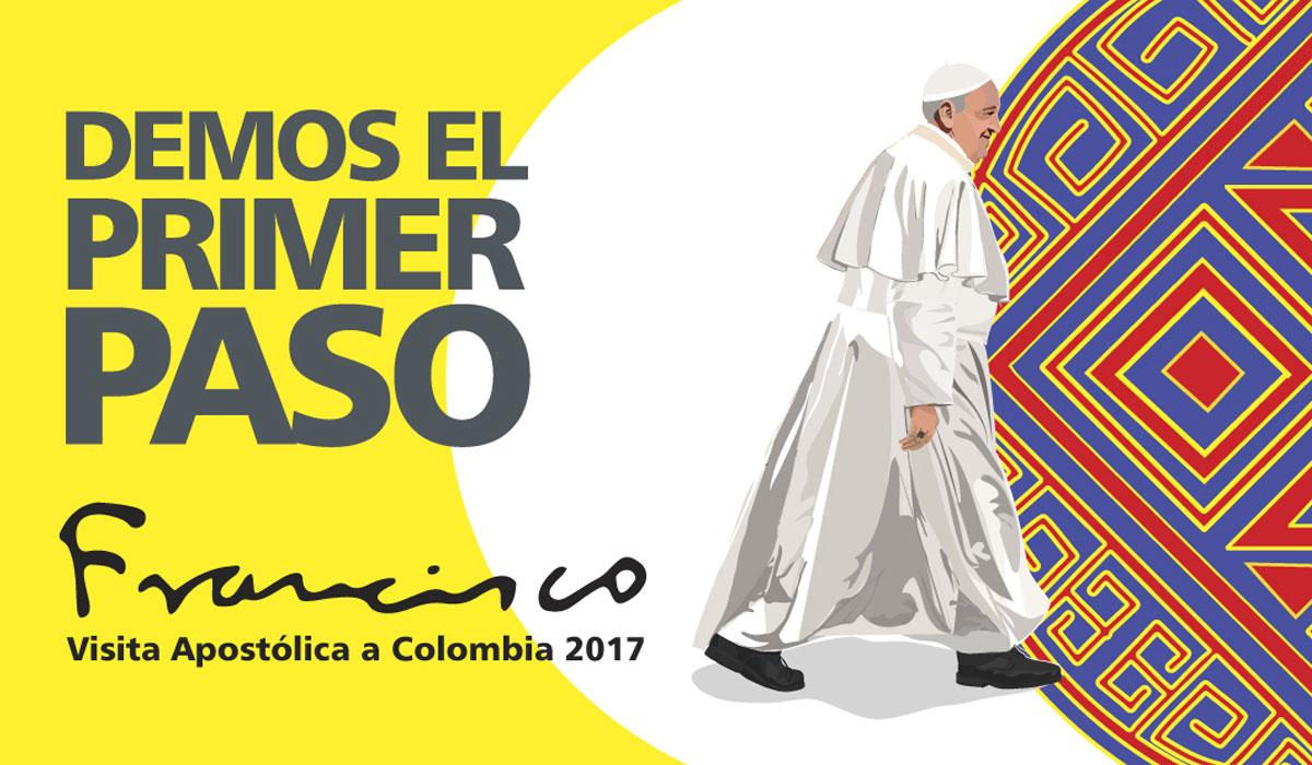 Francisco en Colombia: La humilde ruta de la paz