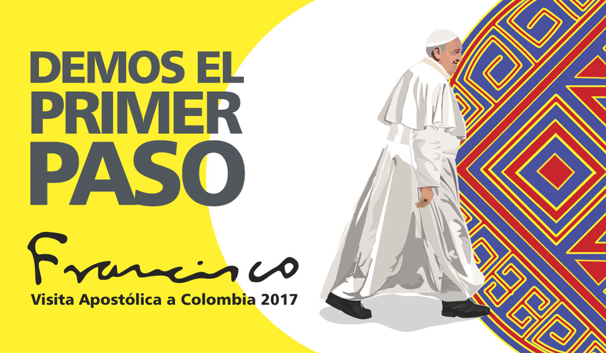 Colombia, a la espera del Papa Francisco