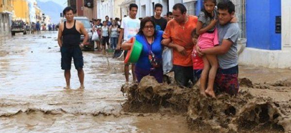 Perú sigue enfrentando momentos difíciles tras inundaciones