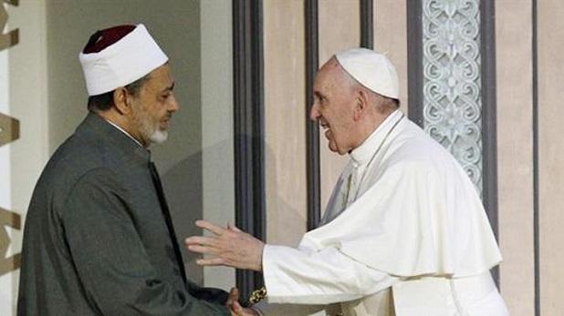 Francisco en Egipto: no más violencia a nombre de Dios
