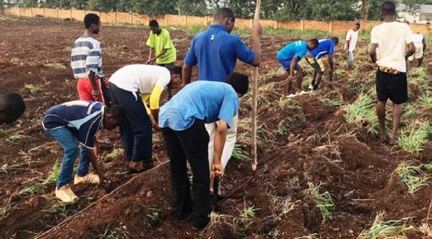 Agricultura contra la trata de personas