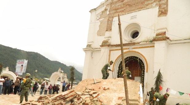 Reacciones ante el terremoto
