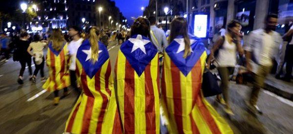 """Cataluña y España diciendo """"perejil"""""""