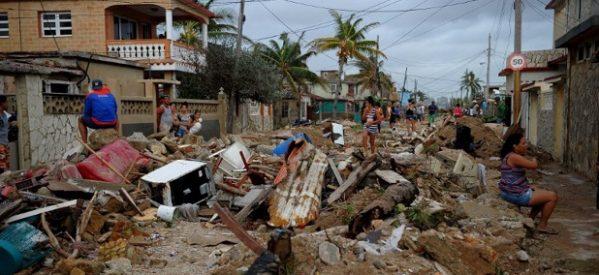 A un mes del huracán Irma, Cuba sigue muy afectada