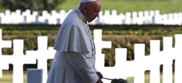 Francisco: no más guerra, que tiene por fruto la muerte