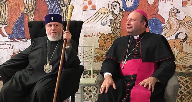 """México y Armenia """"son dos pueblos que han sufrido mucho por su fe"""": Franco Coppola"""