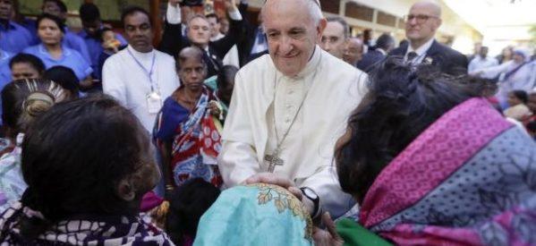 El más difícil viaje del Papa