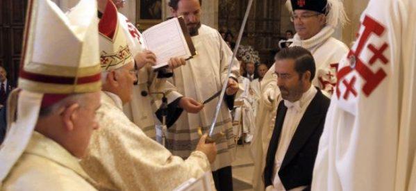 Investirán 18 nuevos caballeros en México de la Orden del Santo Sepulcro